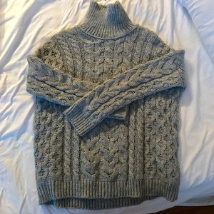 ZARA- Cable Knit Sweater Made in Turkey Size: M